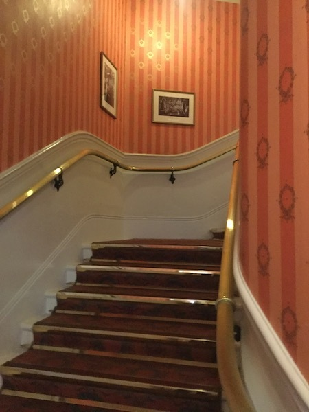 Noel Coward Theatre, Leicester Square, stairs, staircase