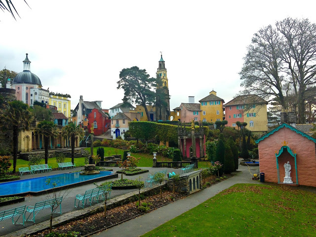portmeirion, north wales, snowdonia national park, festival number 6, the prisoner, italian village in wales, things to do in north wales