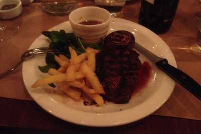 Steak, Tota Restaurant