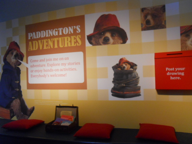a bear called paddington, museum of london, paddington trail