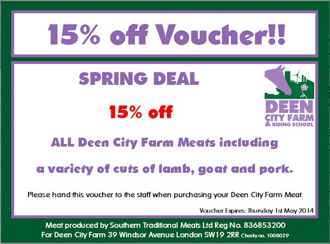 deen city farm, sale, meat