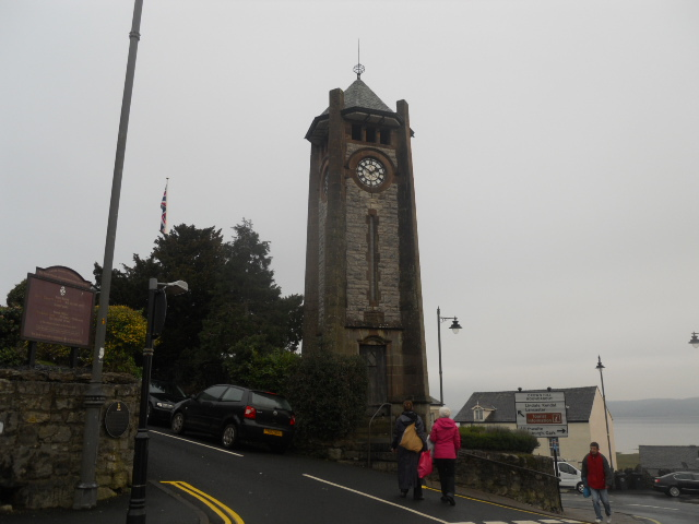 grange over sands, grange, clock tower