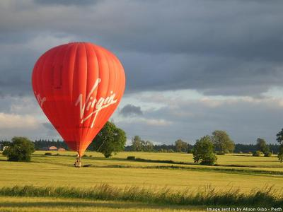 hot air balloon, virgin