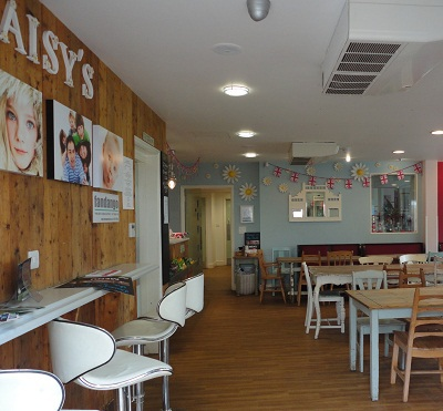 Inside Daisy's in the Park