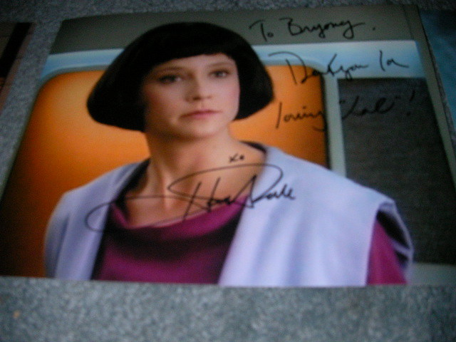 london film & comic convention, lfcc, gates mcfadden, autograph
