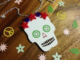 make good empire, day of the dead, lapel picador, jewellery