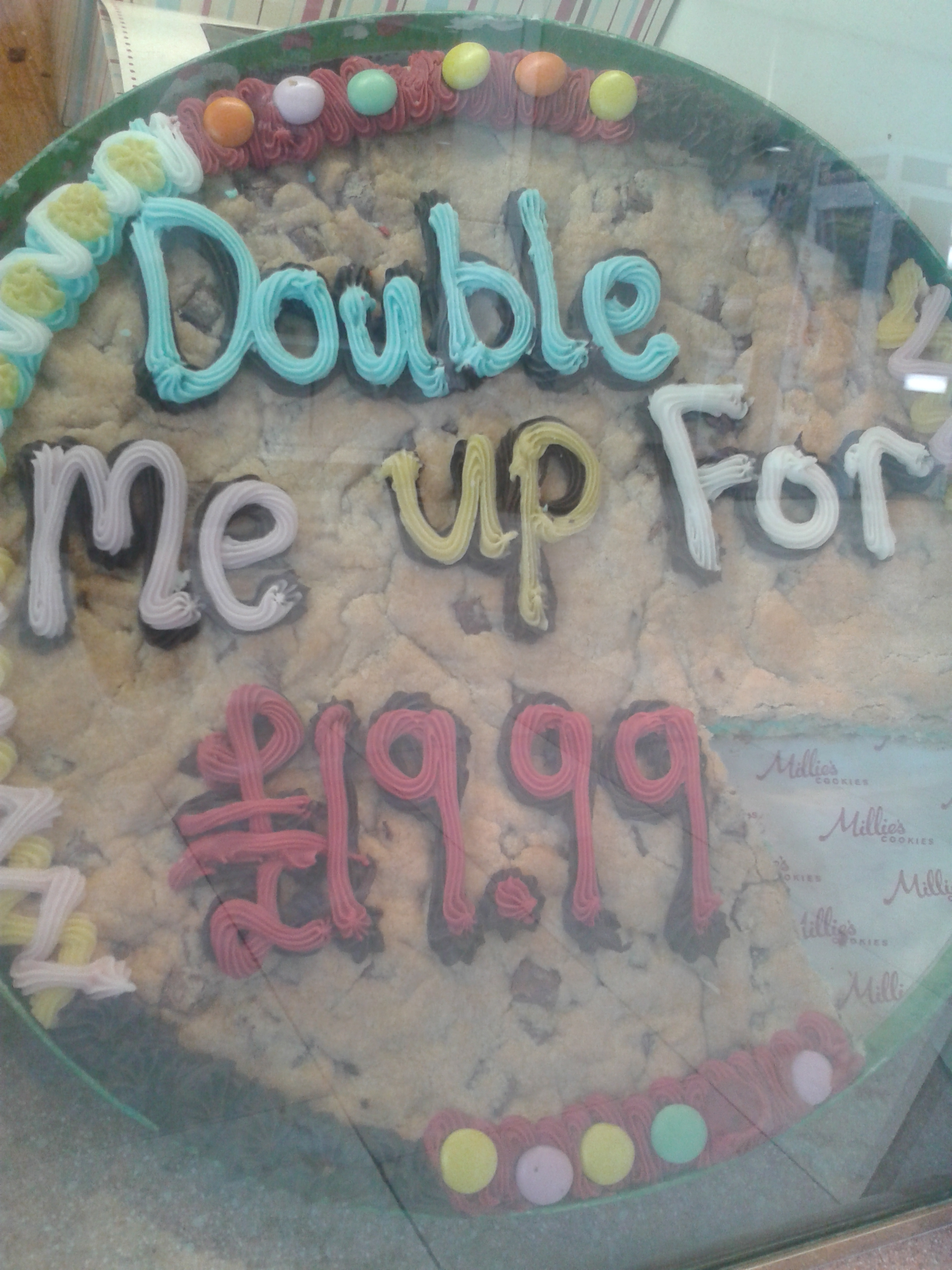 Giant Cookie Cake Large Image
