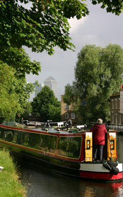 Regent's Canal from Mile End Park