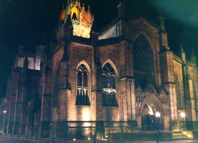 St. Giles, edinburgh, top 5 attractions, high kirk