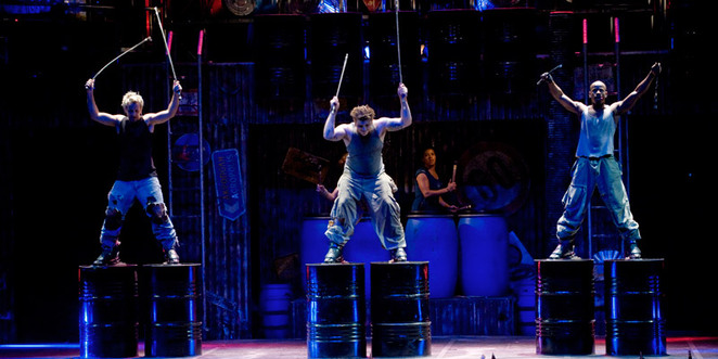 stomp, hitting bins, west end review, best west end shows, cheap west end shows