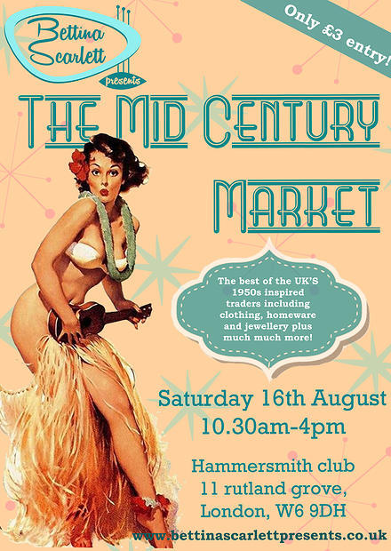 the mid century market, bettina scarlett