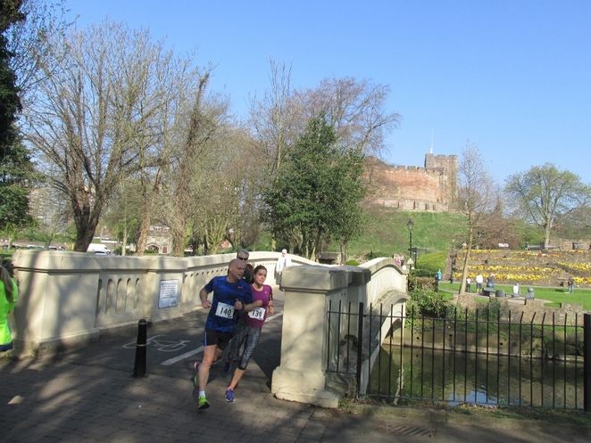 Cathedral to Castle Run, Tamworth Castle