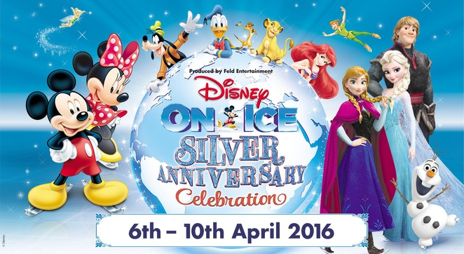 Disney on ice silver anniversary celebration , genting arena, Birmingham , top shows for children kids
