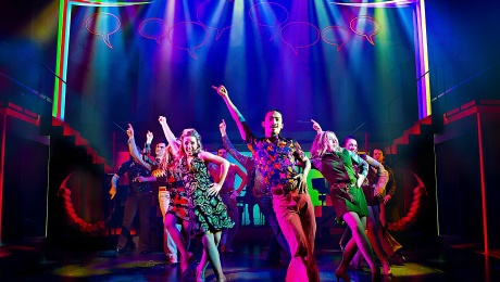 Jackie The Musical, UK Tour, Janet Dibley, Nicholas Bailey, nostalgia musical