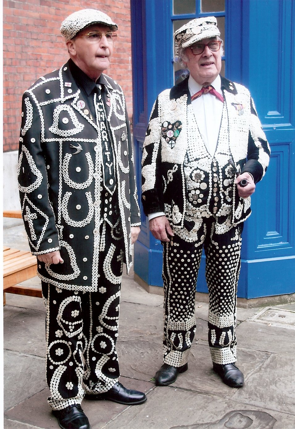 Pearly Kings And Queens Harvest Festival 2012 London