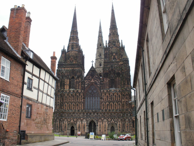 Lichfield Cathedral, Staffordshire Hoard, medieval, Staffordshire