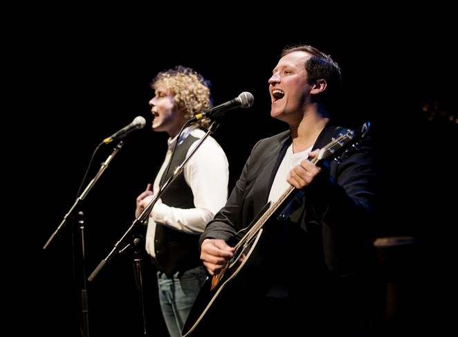 Lichfield Garrick theatre, Simon and Garfunkel