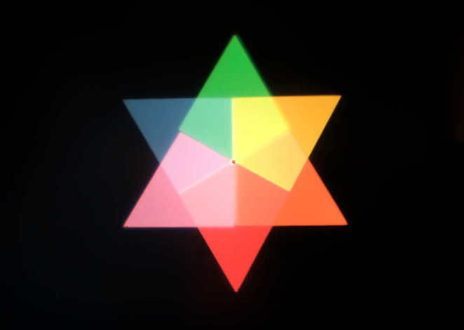 Olafur Eliasson -Ephemeral afterimage star (2008)