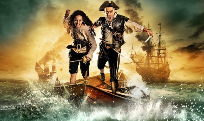 Treasure island, Birmingham Repetory theatre, best Christmas shows in birmingham