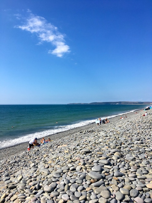 westward ho!,beach,pebbles,seaside,devon,bideford,resort