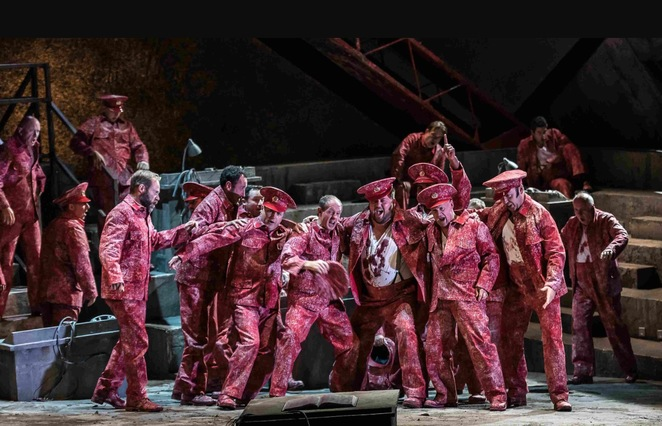 Wno, welsh national opera, Russian operas, Autumn season, Birmingham hippodrome, khovanshchina,, from the house of the dead, Eugene onegin