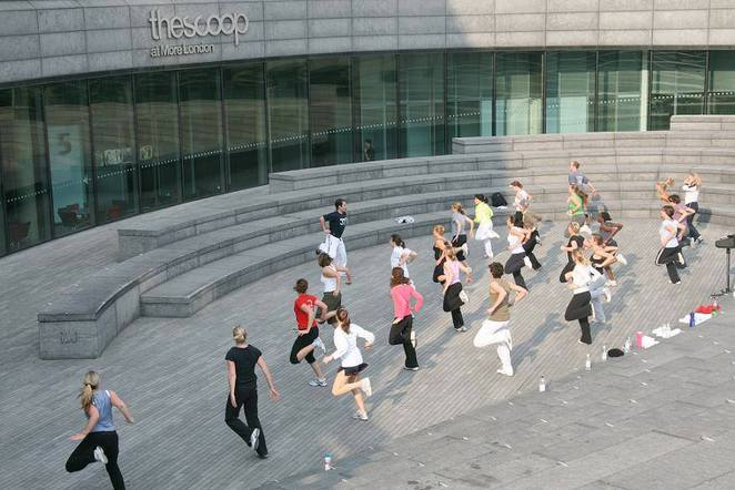 get fit for free, more london