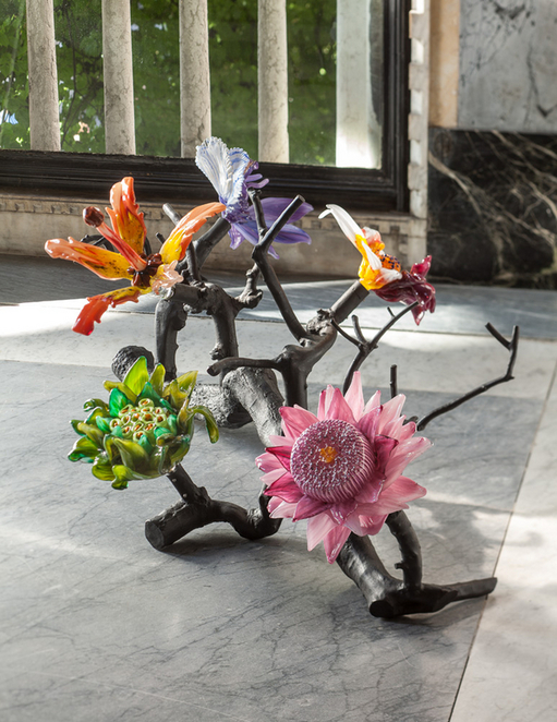 glasstress, white light, white heat, Lucy & Jorge Orta, Perpetual Amazonia: Tree of Life