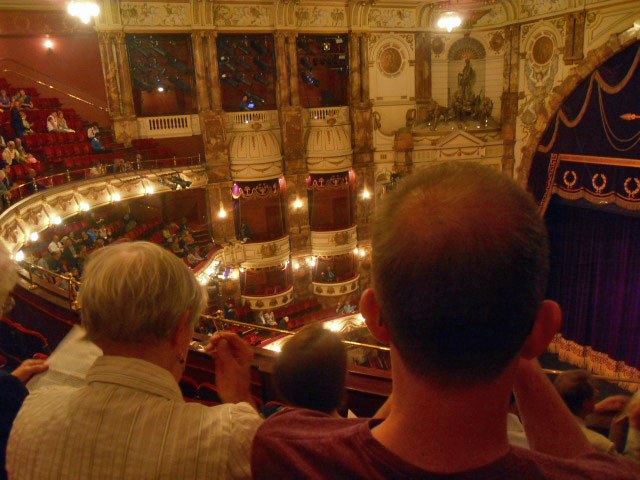 The london coliseum london for English balcony