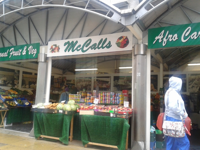 Mccalls, local, local produce, groceries, Caribbean produce