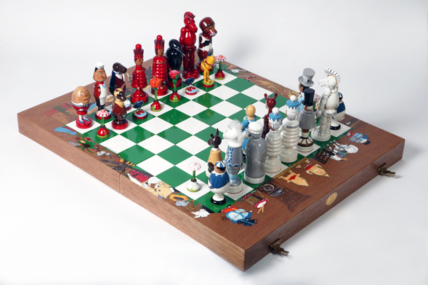 museum of childhood, family chess club, chess