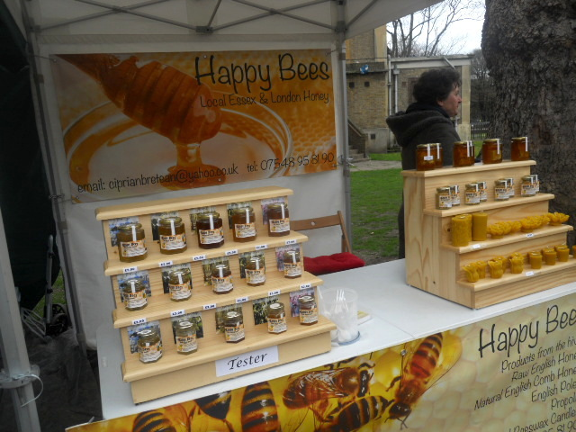 oval farmers' market, happy bees, honey