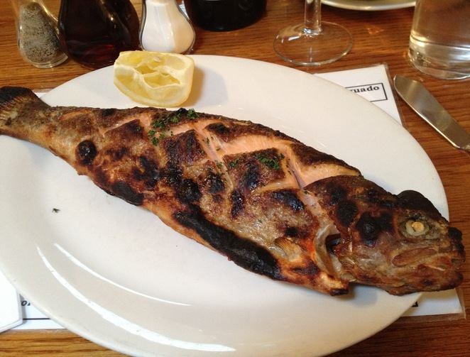 Rainbow Trout, North Sea Fish Restaurant