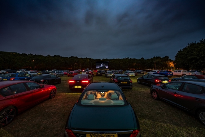 Tamworth Castle Grounds, Drive-in