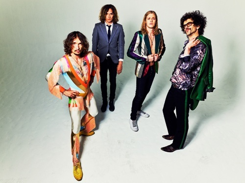 The Darkness, Justin Hawkins, Dan Hawkins, Frankie Poullain, Rufus Taylor, Pinewood Smile, O2 Guildhall Southampton