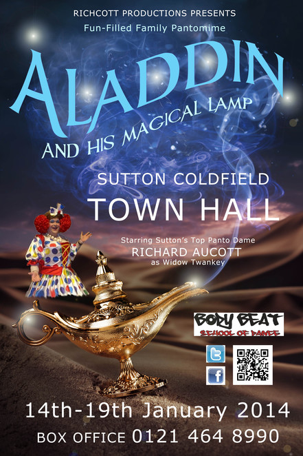 Aladdin and his Magical Lamp, Sutton Coldfield