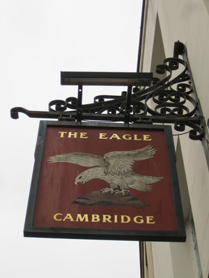 eagle, cambridge, pub, dna