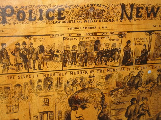 Jack the Ripper, museum, London