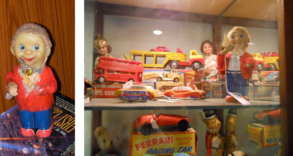kingston, antiques, wind up toy