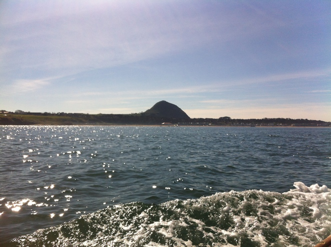 north berwick, law, hill, firth of forth