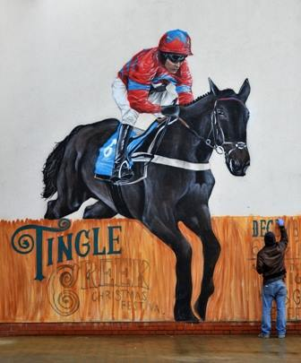 sandown, tingle creek christmas festival