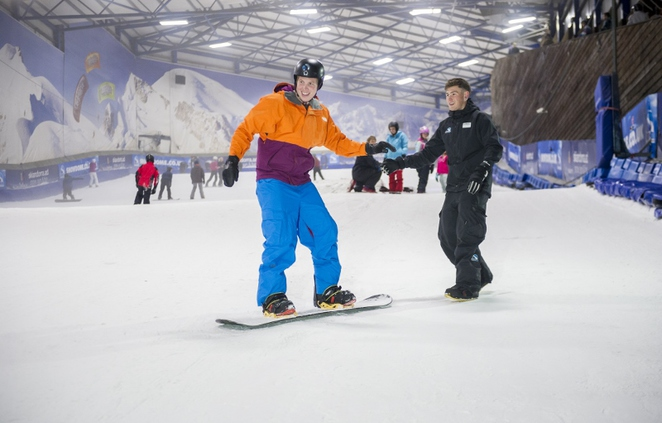 Tamworth SnowDome, indoor ski slope, snowboarding, skiing