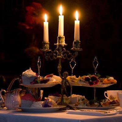 Candle-lit Afternoon Tea