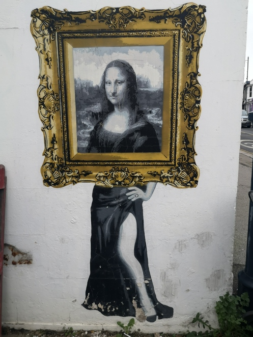 Catman Mona Lisa Whitstable