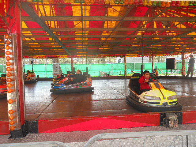 clapham common, theme park, fun fair, dodgems