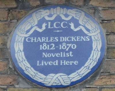 Dickens House Blue Plaque