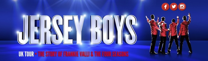 jersey boys, uk tour, birmingham, new alexandra theatre, musicals, christmas shows, franki valli and the four seasons