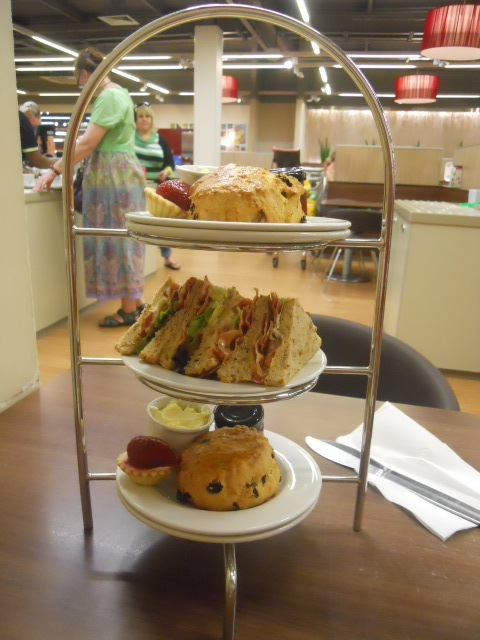 marks & spencer, m&s cafe, afternoon tea
