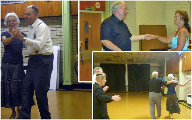 south mitcham Community Centre, social dancing club, dancing