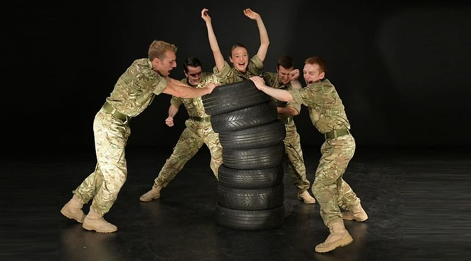 10 soldiers Rosie Kay review UK tour