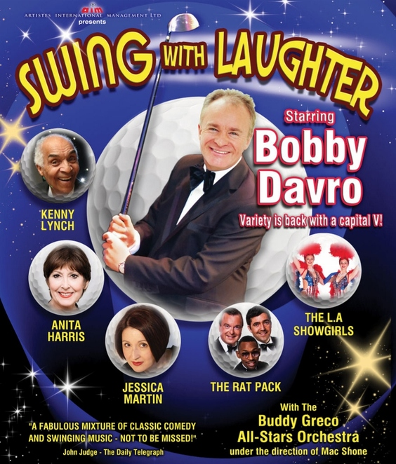 Bobby Davro, Swing With Laughter